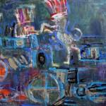 2015.05 - 2015.09 Menotyrininko, tapytojo Gintaro Kušlio (Kaunas) darbų paroda