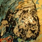 2015.09 - 2015.11 Skulptoriaus Gintaro Česiūno (Kaunas) tapybos darbų paroda