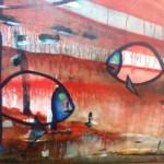 """2013.04 – 2013.08  Muzikanto, architekto Žilvino Lazausko (Kaunas) tapybos darbų paroda  """"Čiairdabar"""""""